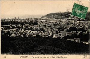 CPA FÉCAMP-Vue générale prise de la Cote St-Jacques (347685)