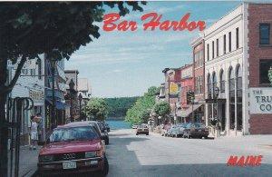 BAR HARBOR , Maine, 1960s ; Business section , Main Street