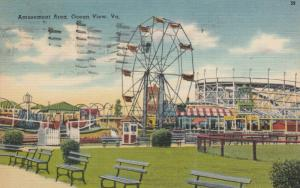 OCEAN VIEW , Virginia , 1947 ; Amusement Area