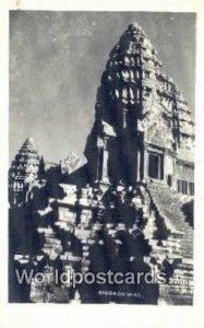 Real Photo Angkorwat Angkorwat Cambodia, Khmer Unused