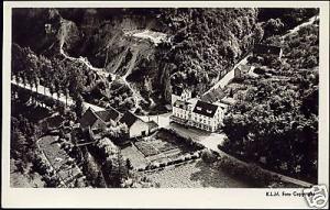 netherlands, GEULEM, Hotel Berg en Dal, Aerial 50s RPPC