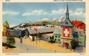 IL - Chicago. 1933 Chicago World's Fair. Swiss Village