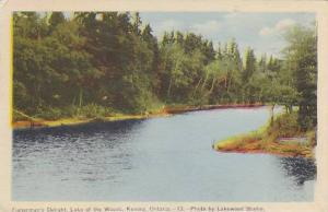 Fisherman's Delight, Lake of the Woods, Kenora,Ontario, Canada,PU-1947