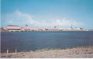 Robert H. Saunders Generating Dam in Canada & Barnhart Island Powerhouse in t...