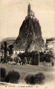 CPA Le Puy - Le Rocher St-Michel (588965)