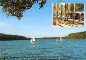 Storkow Naturcampingplatz Limsdorf Am Springsee Lake Boats
