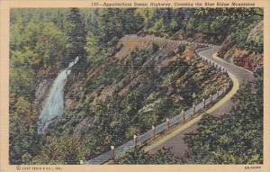Appalachian Scenic Highway Crossing The Blue Ridge Mountains Curteich