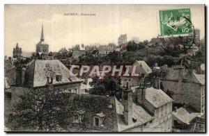 Saumur Old Postcard Panorama