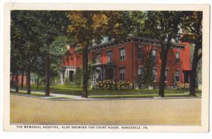 Hospital, Honesdale PA