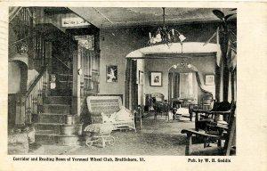 VT - Brattleboro. Vermont Wheel Club, Reading Room