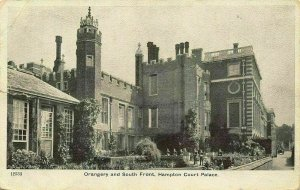 Orangery and South Front Hampton Court Palace Postcard