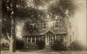 Kingston RI Home Management House RIS c1910 Real Photo Postcard