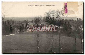 Postcard Old Saint Benin D Azy General view