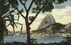 brazil, RIO DE JANEIRO, O Pão de Acucar (1930s)