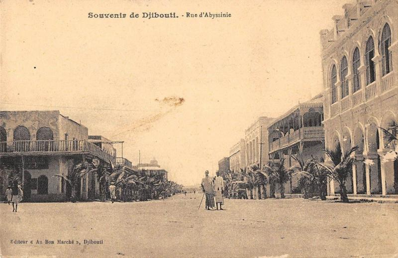 BR57001 Djibouti rue d abyssinie    Africa