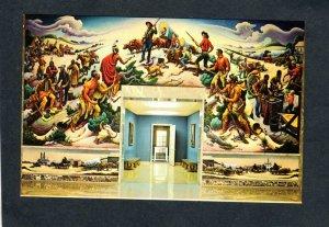 MO Harry S Truman Library Thomas Benton Painting Independence Missouri Postcard