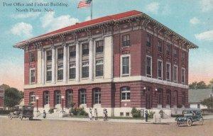 NORTH PLATTE, Nebraska, 1900-1910's; Post Office And Federal Building