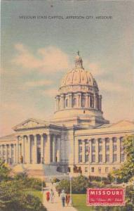 Missouri Jefferson City Missouri State Capitol