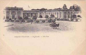 GRAND TRIANON, La Facade, Versilles, Paris, France, 00-10s