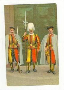 Three Guardias In Uniforms, Italy, 00-10s