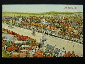 London OLD CHEAPSIDE c1908 Postcard