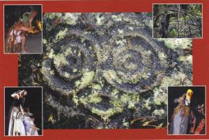 Indian sweat Lodge & petroglyph , Alterbay Potlach , B.C. , Canada , 60-80s