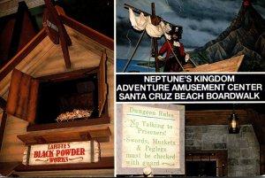 California Santa Cruz Beach Boardwalk Neptune's Kingdom Adventure Amusem...