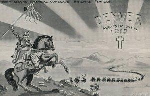 DENVER , Colorado, 1900-1910s; 32nd Conclave Knights Templar