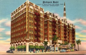 California San Diego Pickwick Hotel