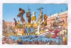 Carnaval De Nice, En Avant Arche, Nice (Alpes Maritimes), France, PU-1965