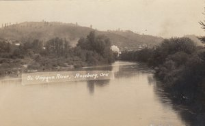 RP: ROSEBURG , Oregon , 1910s ; So. Umpqua River