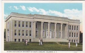 South Carolina Columbia Science Building University Of South Carolina Curteich