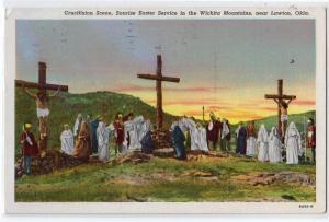 Crucifixion Scene, Easter, Wichita Mts. Lawton OK