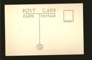 Canada Henderson Park Lethbridge Alberta Linen Postcard Unposted