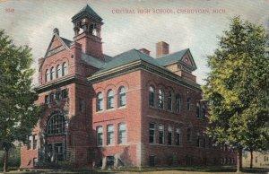 CHEBOYGAN , Michigan , 1911 ; Central High School