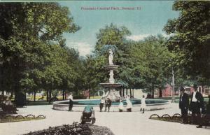 Fountain Central Park, Decatur, Illinois, 00-10s