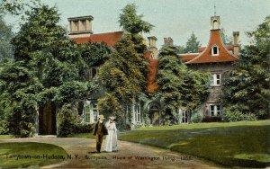 NY - Tarrytown-on-Hudson. Sunnyside, Washington Irving's Home