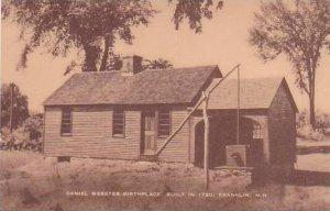 New Hampshire Franklin Daniel Webster Birthplace Bult 1780