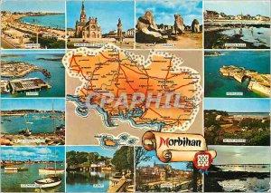 Postcard Modern Morbihan