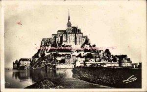Mont Saint Michel Old Postcard South coast