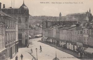 BAR-le-DUC , France , 00-10s ; Rues Rousseau et Entre-Deux-Ponts