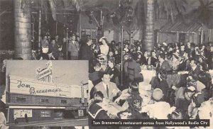 Tom Breneman's Restaurant, Radio City Hollywood, California, USA Theater Unused