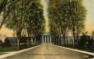 NY - Utica. Utica State Hospital, Court Street