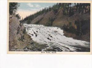 Canada Alberta Banff Bow Falls