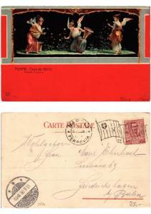 CPA POMPEI Casa dei Vettii Psiche Fioraie ITALY (534036)