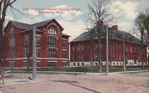 Michigan Kalamazoo High School And Manual Training School