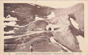 france Dauphine Le Tunnel Du Galibier Cote de la Maurienne