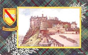 Scotland, UK Old Vintage Antique Post Card Changing the Guard Edinburgh Castl...