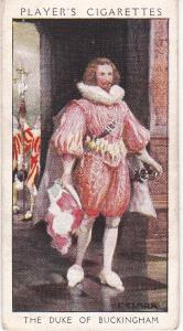 Cigarette Card Player's Dandies No 9 The Duke of Buckingham