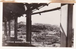 Philippines Topside Barracks From Corregidor Hospital Real Photo